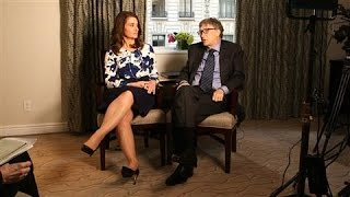 Bill and Melinda Gates: Enlisting the Next Generation