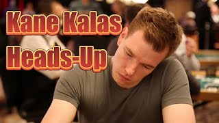 $10,000 Heads-Up Championship: Kane Kalas on Beating a Poker Legend