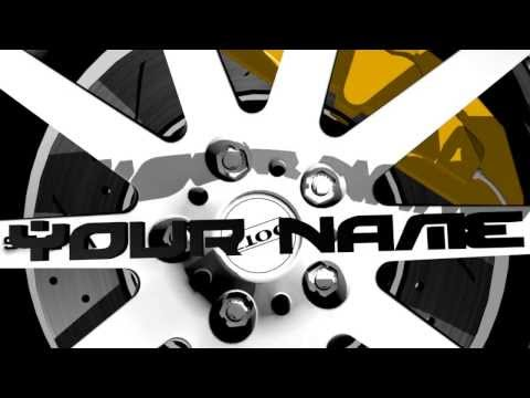 Spinning Wheel - Intro Template [Blender 2.69]