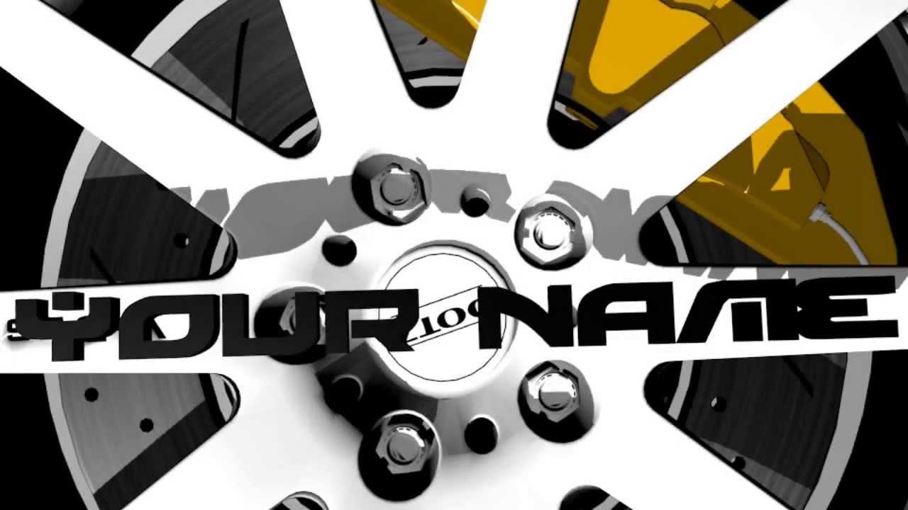 Spinning Wheel Intro Template Blender 269 Youtube