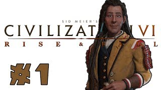 Civilization VI Rise And Fall Poundmaker Of The Cree Part 1