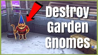 Destroy Garden Gnomes Daily Quest | Fortnite Save The World Guide