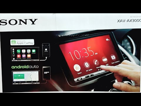 Sony Xav Ax3000 Android Auto and Apple Car play Review