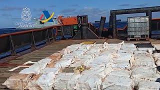 Intervenidas 4 toneladas de cocaína en un golpe al narcotráfico gallego