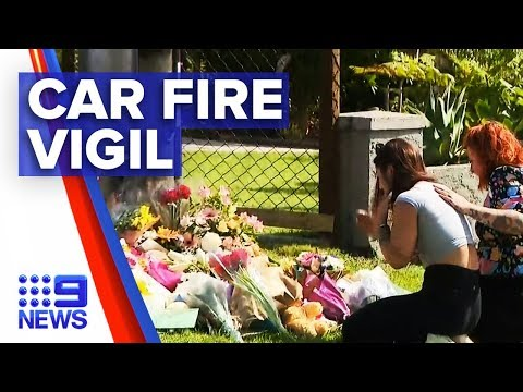 Tributes For Brisbane Mother And Three Children Killed In Car Fire | Nine News Australia