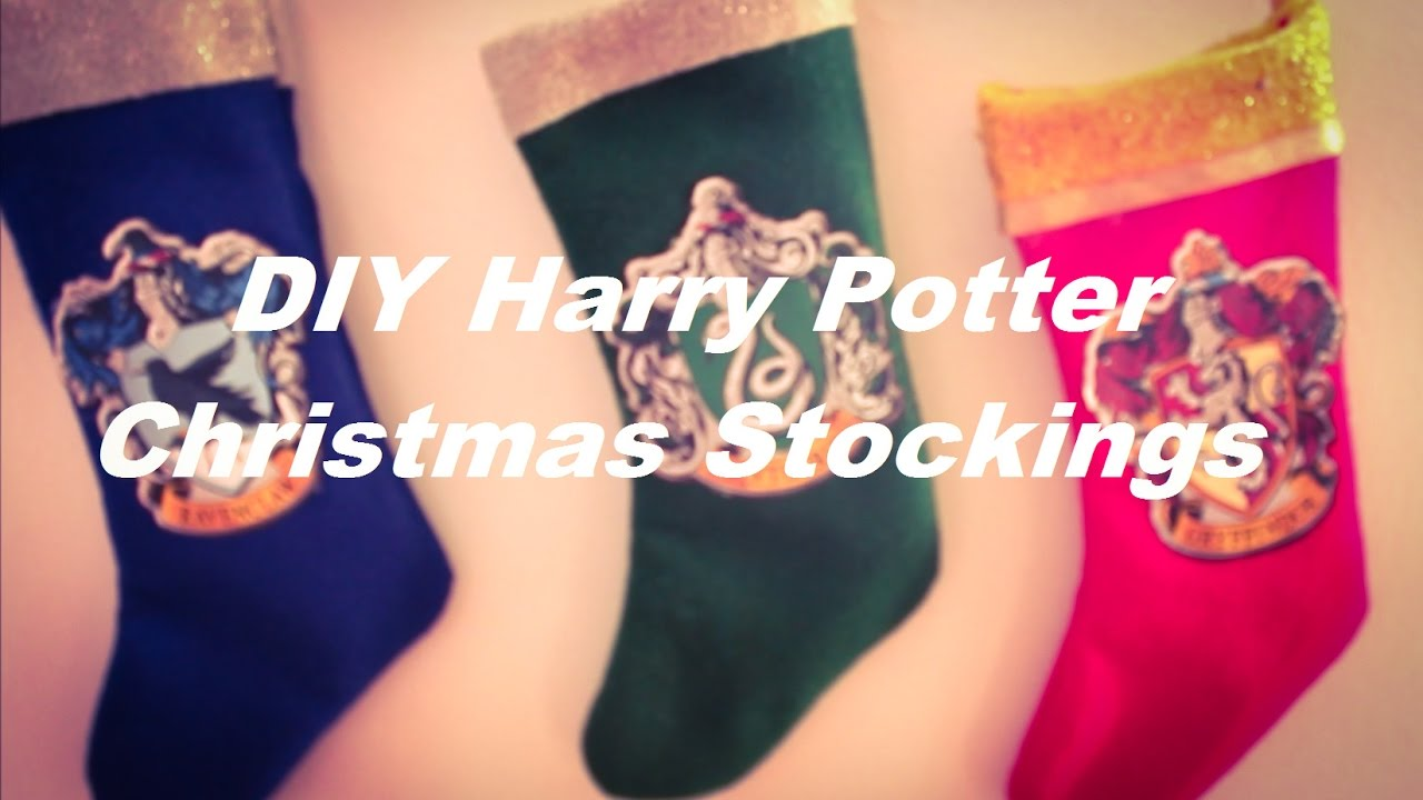 diy harry potter christmas stockings