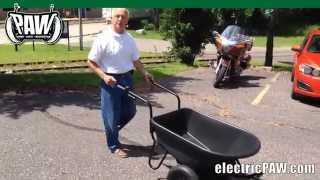 Electric Wheelbarrow - How To Operate Your Paw - Powered Wheelbarrow