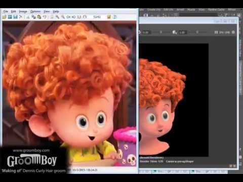 Making Of Dennis Curly Hair Groom Using Groomboy Toolsets Youtube