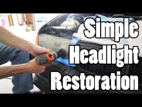Restoring My BMW Headlights