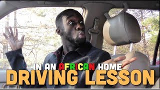 In An African Home: Driving Lesson