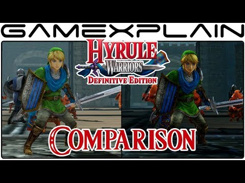 Hyrule Warriors: Definitive Edition HeadtoHead Comparison Switch vs. Wii U