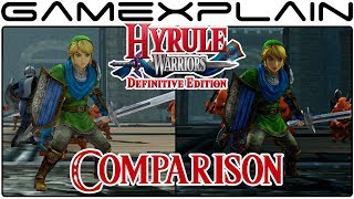 Hyrule Warriors: Definitive Edition Head-to-Head Comparison (Switch vs. Wii U)