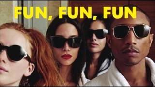 Pharrell Williams - FUN, FUN, FUN Get Pharrell's new album G I R L ...