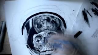 Drawing Challenge: Week 10. - Dead Astronaut