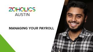 Zoho's finance suite is now bigger and better than ever. with the release of zoho payroll, we're rolling out a critical component that you all have asked for...