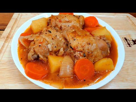 สตูไก่ สูตรทำง่าย เครื่องเทศไทยๆ แต่อร่อยระดับอินเตอร์ Chicken stew