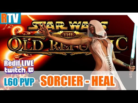 """SWTOR L60 PVP - Sorcier HEAL - """" How to save a life ! """""""
