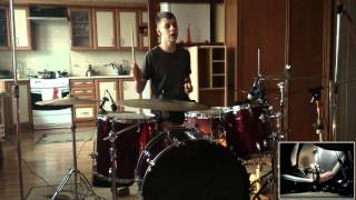 funeral party giant drum cover
