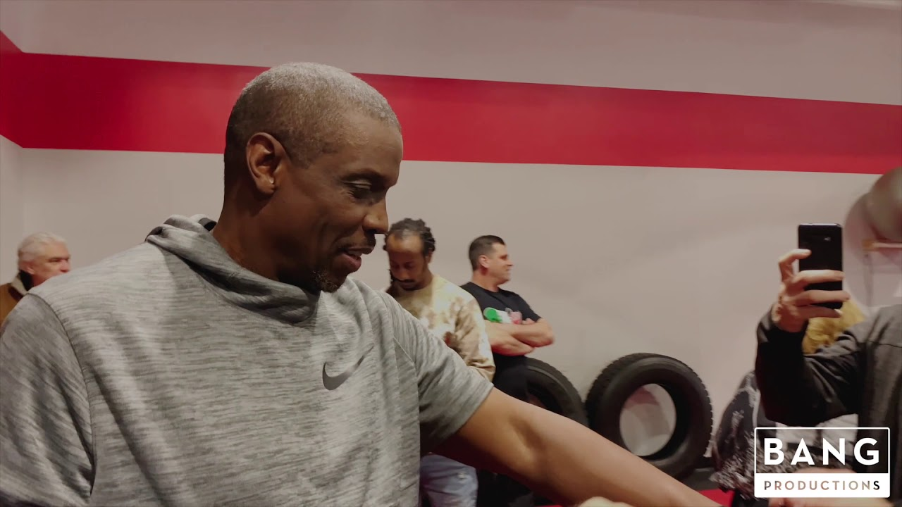 DOC GOODEN TRAINING FOR CELEBRITY BOXING - COOLEY VS GOODEN - ATLANTIC CITY, NJ - MARCH 7, 2020.