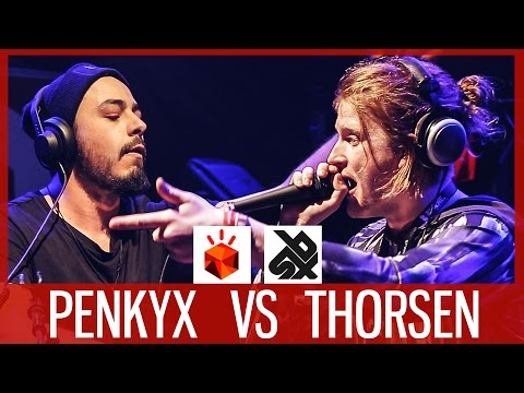 PENKYX vs THORSEN  |  Grand Beatbox LOOPSTATION Battle 2017  |  1/4 Final