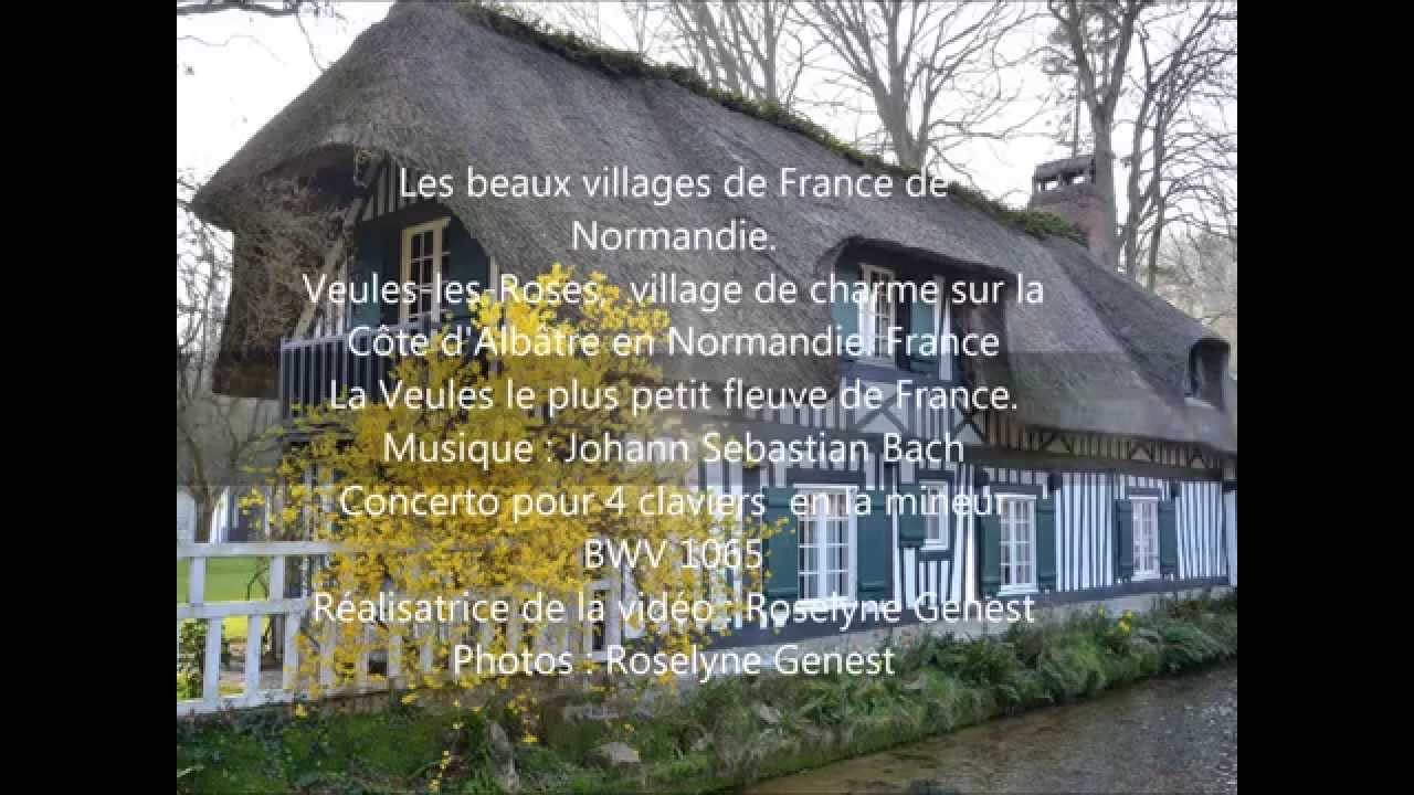 Veules les roses village de charme sur la c te d 39 alb tre en normandie france youtube - Salon de the veules les roses ...