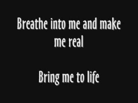 Evanescence ft. Paul McCoy - Bring me to Life ( Lyrics )