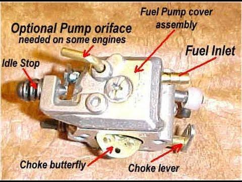 2 stroke carburetor rebuild (detailed)