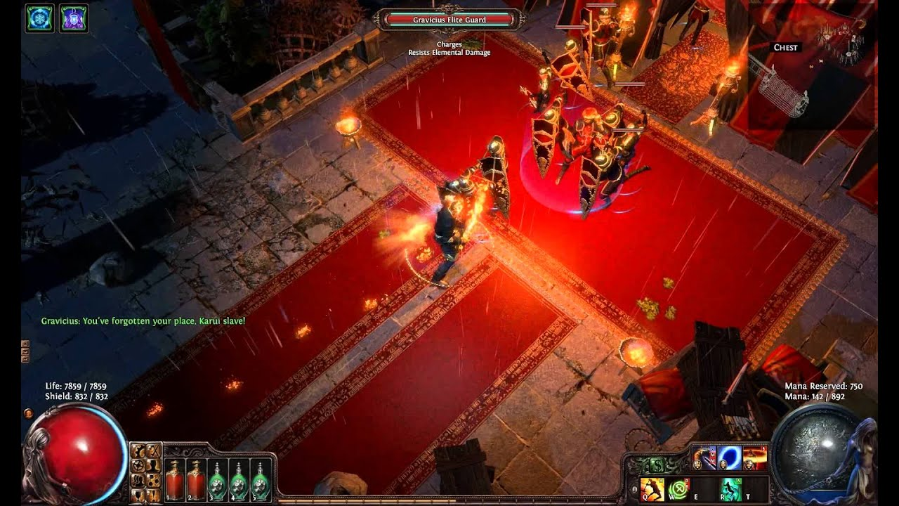 Path of exile ebony barracks