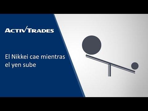 13/04/2017 - El Nikkei cae mientras el yen sube