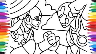 IRON MAN VS CAPTAIN AMERICA // MARVEL AVENGERS COLORING PAGES // COLORING FOR KIDS