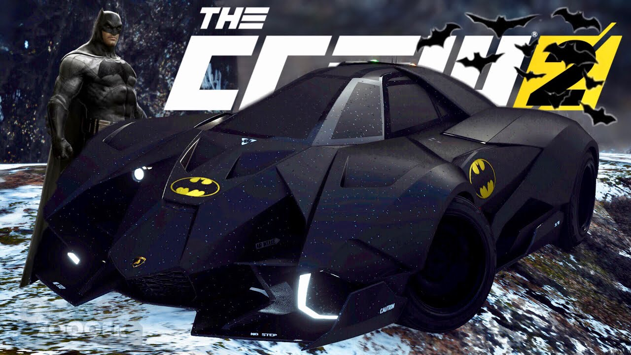 Batmobil Lamborghini Egoista Tuning The Crew 2 Youtube