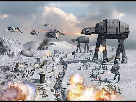 epic roblox star wars hoth battle youtube. Black Bedroom Furniture Sets. Home Design Ideas