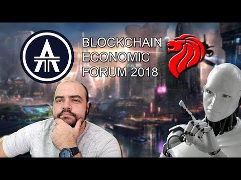 ¡¡Que nos Depara el Futuro Según la Blockchain Economic Forum 2018 en Singapur!!