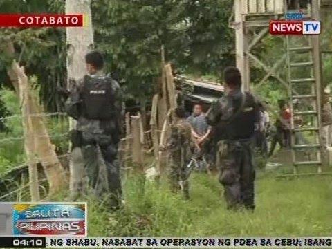 BP: Pagtugis sa mga tumakas na preso sa North Cotabato District Jail, patuloy