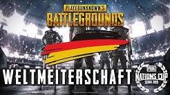 PUBG Weltmeisterschaft mit Team Deutschland - NationsCup 500.000$ Turnier German Deutsch Highlight
