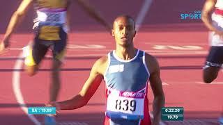 Paarl Athletics 22 March   200m Mens B race high
