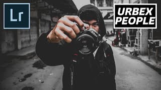 Cara edit street urbex people di Lightroom | tutorial #lightroom