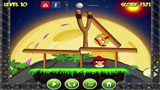 Angry Birds Space Big Bomb - PROTECT ALL BIRDS FROM ASTEROID