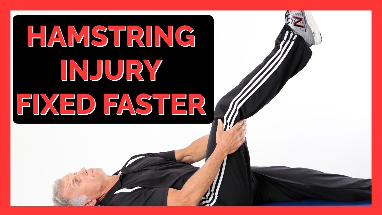 Hamstring Injury Fixed Faster & Less Re-Injury Risk-Updated Research!