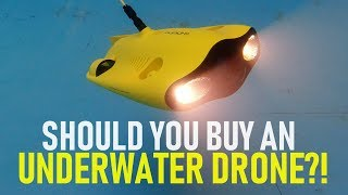 Should You Buy An Underwater Drone?   Closer Look At The Gladius Mini   DansTube.TV