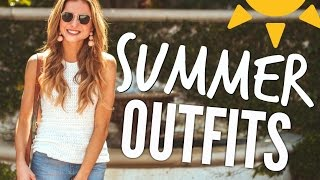 SUMMER OUTFIT IDEAS 2017 + Summer Trends