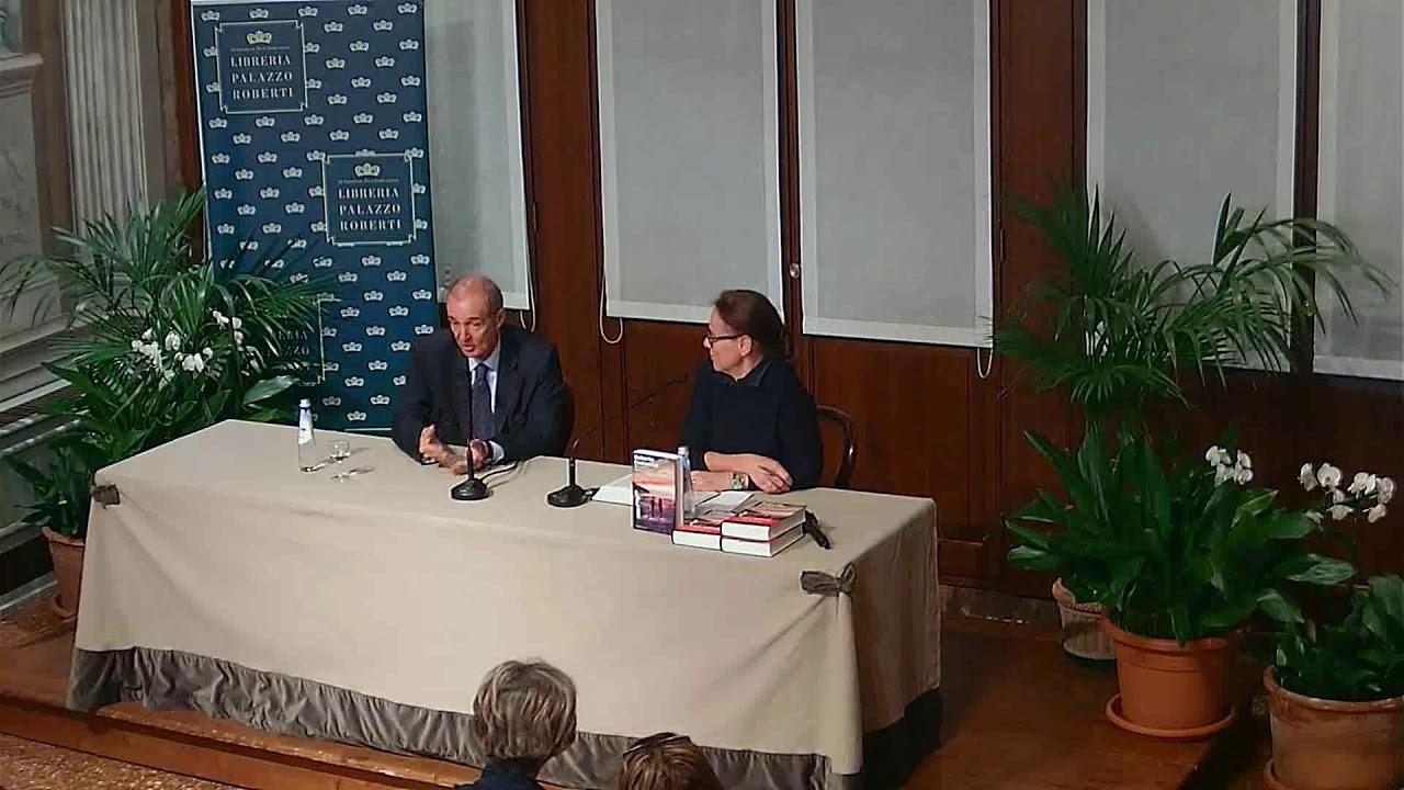 Roberto Costantini Presenta Da Molto Lontano Libreria Palazzo Roberti 10 Aprile 2019 Youtube