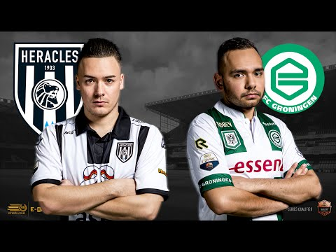 Bryan Hessing – Absalom Warkor | Heracles Almelo – FC Groningen | Speelronde 18 | E-Divisie