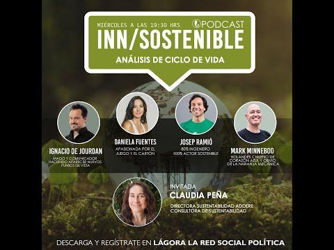 Podcast Inn-Sostenible - Hoy Análisis de Ciclo de Vida con Claudia Peña