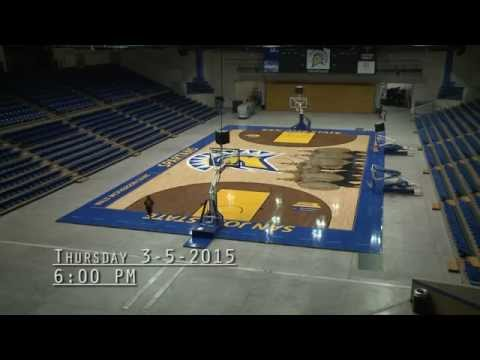San Jose State Event Center Time-Lapse