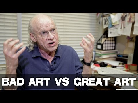 Biggest Difference Between Bad Art and Great Art by UCLA Pro