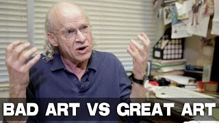 Biggest Difference Between Bad Art and Great Art by UCLA Professor Richard Walter thumbnail