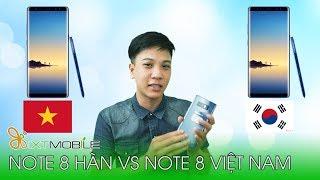 Video XTmobile | So sánh Note 8 Hàn với Note 8 Việt Nam, vì sao giá chênh nhau tận 5 triệu ?? download MP3, 3GP, MP4, WEBM, AVI, FLV Juli 2018