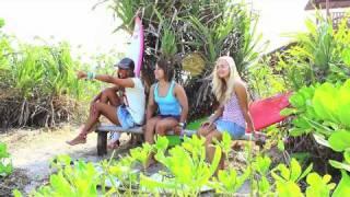 видео дневник 7 уроки серфинга на Бали