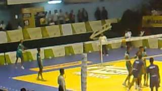 Bantul Yuso vs Surabaya Samator Voli Proliga 2010 (14 Maret)